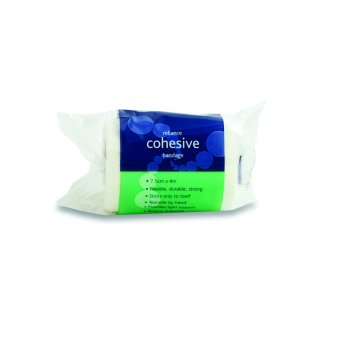 Reliance Cohesive Bandage - Latex Free White 7.5cm x 4m