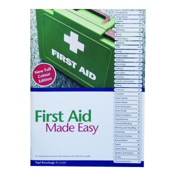 Blue Dot First Aid Made Easy A4