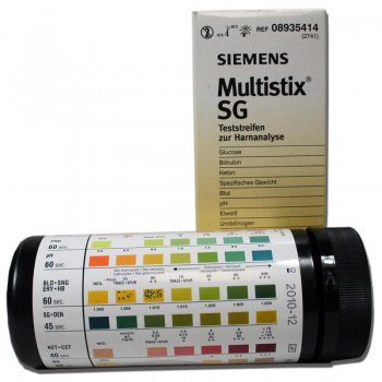 Bayer Multistix SG -  Reagent Strips for Urinalysis, 100 test strips