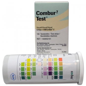 Roche Combur-7 Test 100 Strips