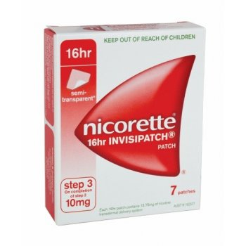 Nicorette Invisi-Patch 10mg (7)