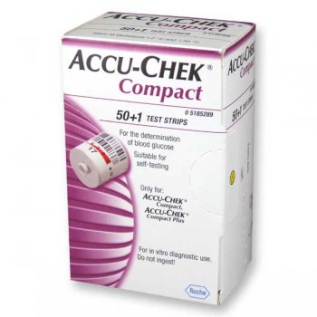 Accu-Chek Compact Test Strip 17x5 (50+1)