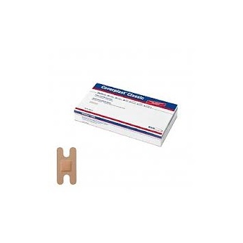 Coverplast  Classic Woven Plasters Anchor Dressing 7.2cm x 3.8cm 100