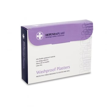 Dependaplast Washproof Anchor Plasters Box of 50