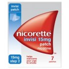 Nicorette Invis-Patch 15mg (7)
