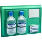 Eye Wash 500ml Plate complete (2 x 500ml and 2 x eye pads)