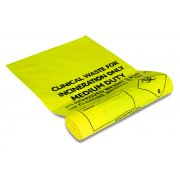Clinical Waste Sacks 42cm x 66cm - Pack of 100