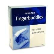 Finger Bandage Tube White Standard Box of 100