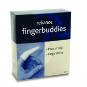 Finger Bandage Tube White Large Box of 100