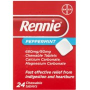 Rennie Tablets Peppermint 24