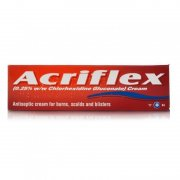Acriflex Antiseptic Burns Cream - 30g