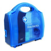 Double Eyewash First Aid Station in Standard White Aura Box