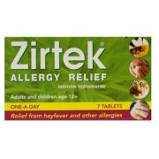 Zirtek Allergy Relief Tablet 10mg