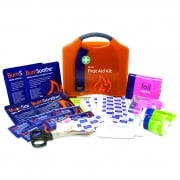 Burns First Aid Kit in Orange Compact Aura